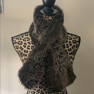 Ny&CO faux fur scarf